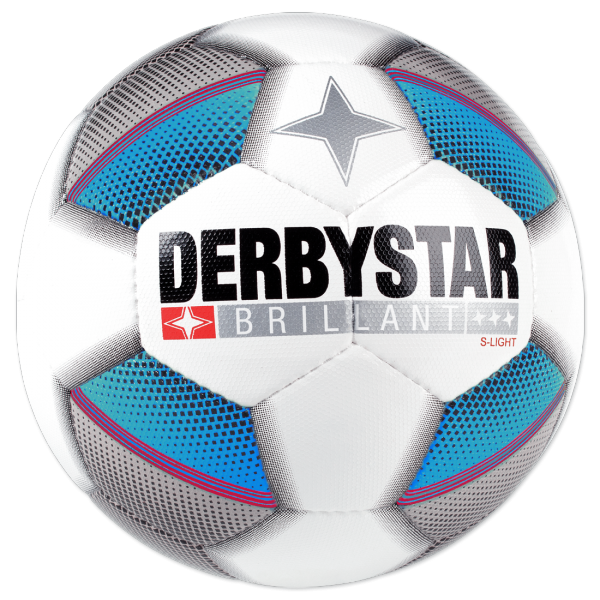 DERBYSTAR BRILLANT S-LIGHT Top-Jugend-Trainingsball Dual Bonded