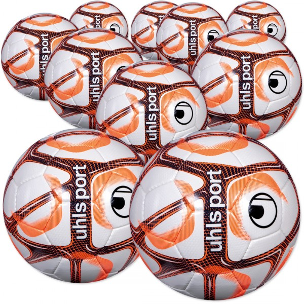 10 Stck. Uhlsport Trainingsball TRIOMPHEO TOP