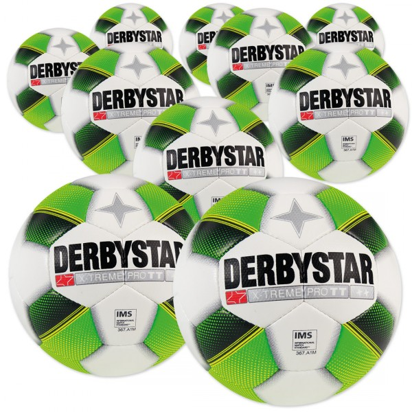 10 Stck. Derbystar X-TREME Pro TT Trainingsbälle im Ballpaket