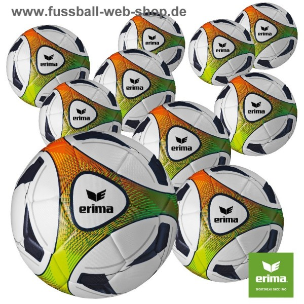 Ballpaket 10 Stck. ERIMA Hybrid Training Gr.4