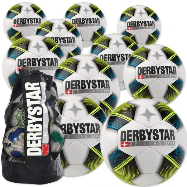 10 Stck. Derbystar Brillant light im Ballpaket