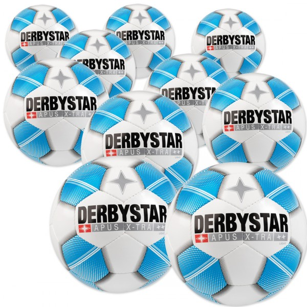 10 Stck. Derbystar Apus X-TRA LIGHT Ballpaket