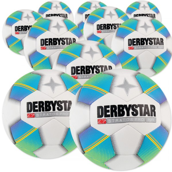 10 Stck. Derbystar Stratos Pro light Ballpaket