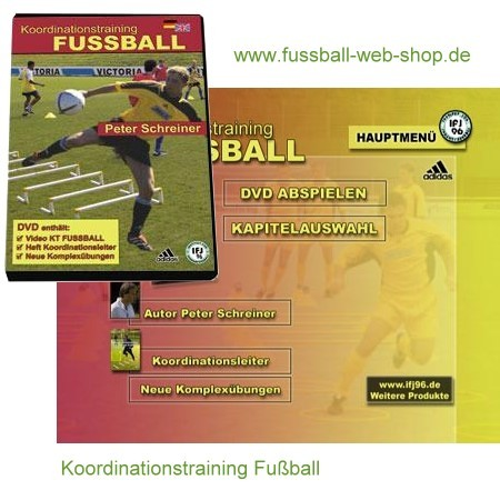 DVD Koordinationstraining Fußball