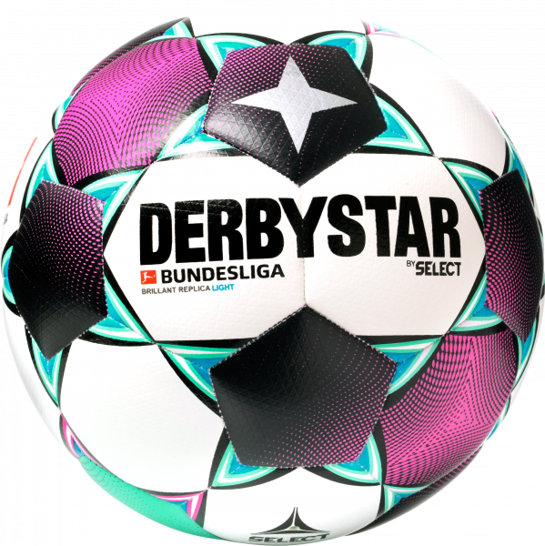 Derbystar Bundesliga Brillant Replica 2020 2021 light jugend front