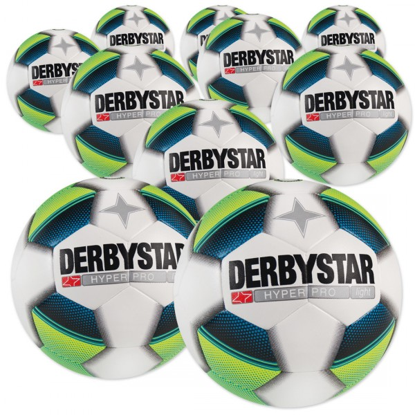 10 Stck. Derbystar Hyper Pro light Ballpaket