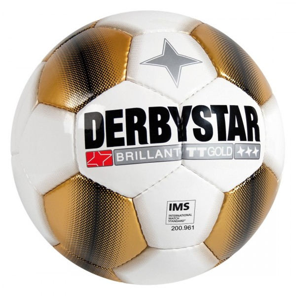 Derbystar Brillant TT Gold Top Trainingsfußball