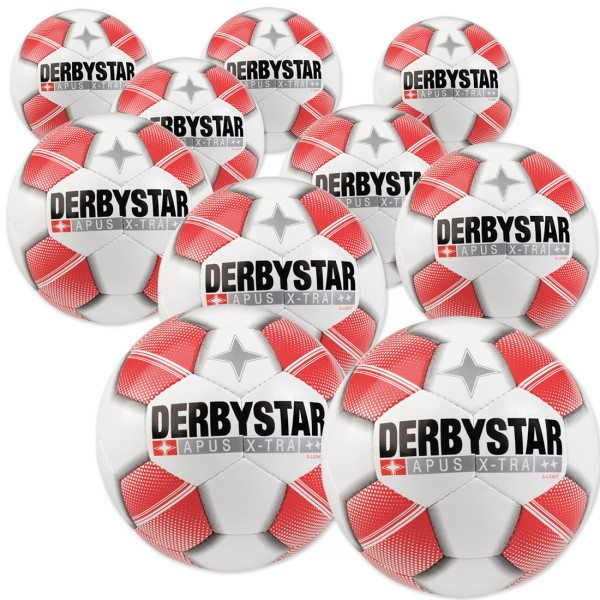 10 Stck. Derbystar Apus X-TRA S-LIGHT im Ballpaket