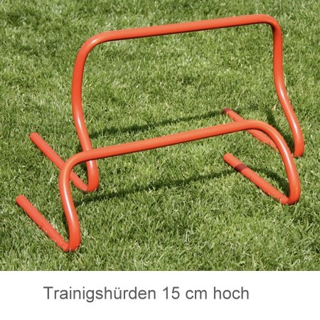 Trainingshürden Fußballtraining Set 6Stck 15 cm hoch