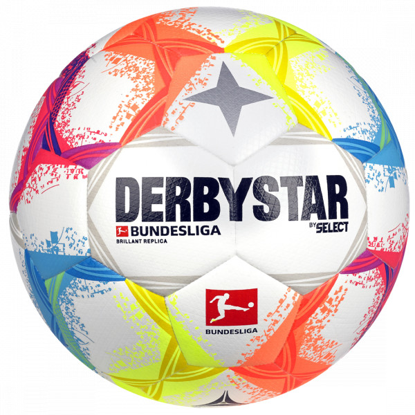 DERBYSTAR Bundesliga Brillant Replica Trainingsball 2019/20
