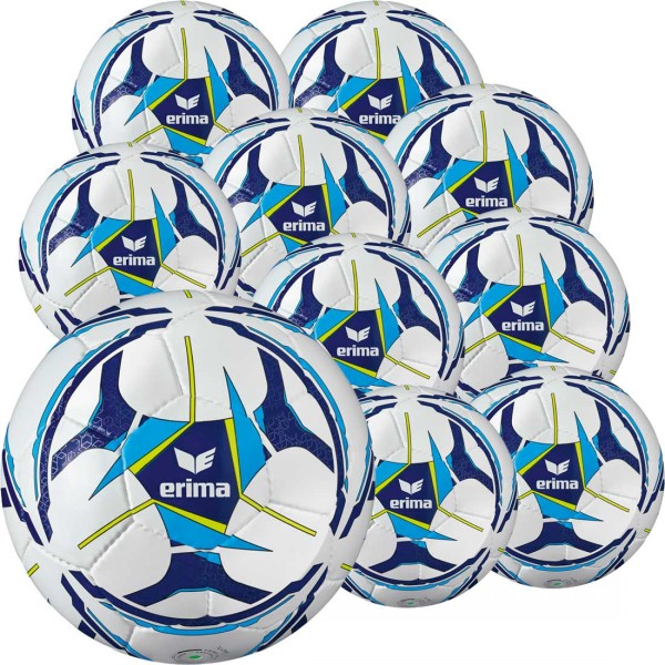 10 Stck ERIMA Senzor Allround Training Gr. 5 im Ballpaket